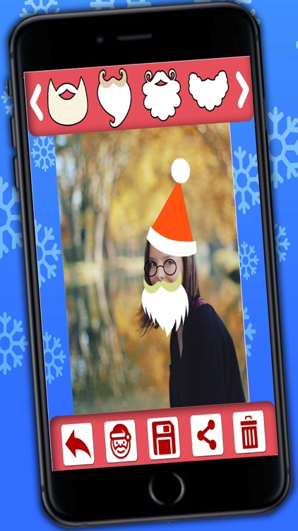 Christmas photo editor - photo stickers of Santa Claus and Christmas screenshot-3