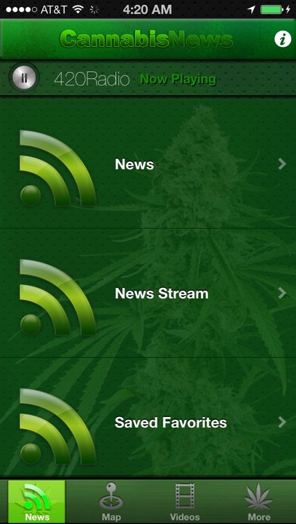 Cannabis News Pro screenshot-0