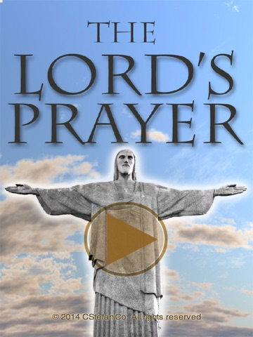 The Lords Prayer Anointed-ipad-4