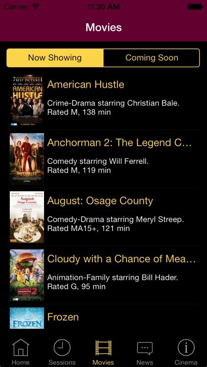 Regent Cinemas Albury Wodonga screenshot-3