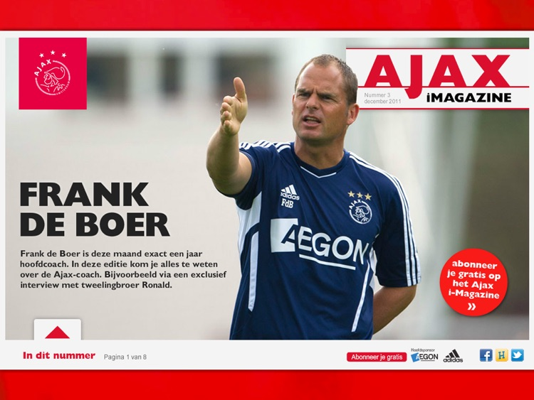 Ajax iMagazine App screenshot-3