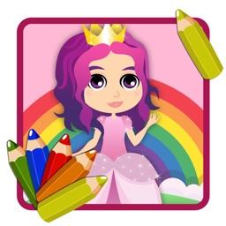 Mermaid Princess Adventure Art Coloring Book
