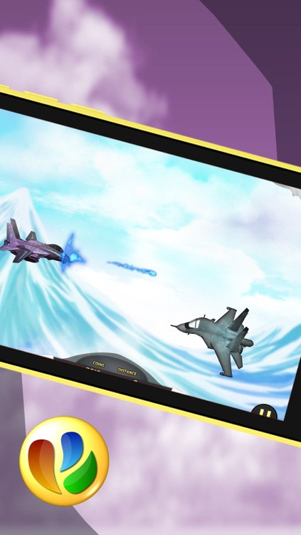 Aerial Jet Fighter Dogfight Battle – Free War Game