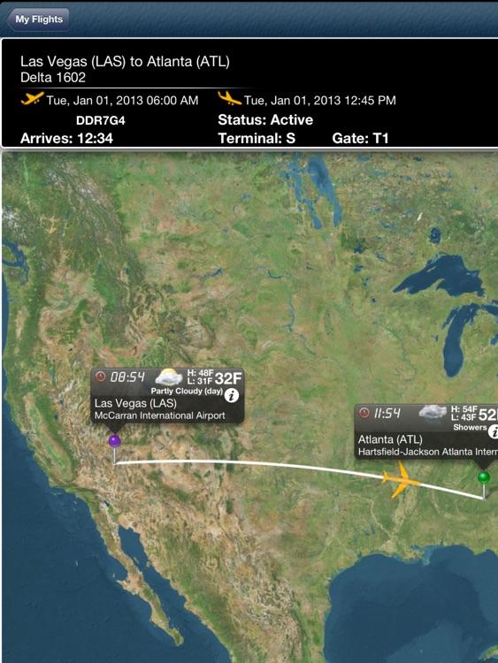 Atlanta Airport HD + Flight Tracker Premium