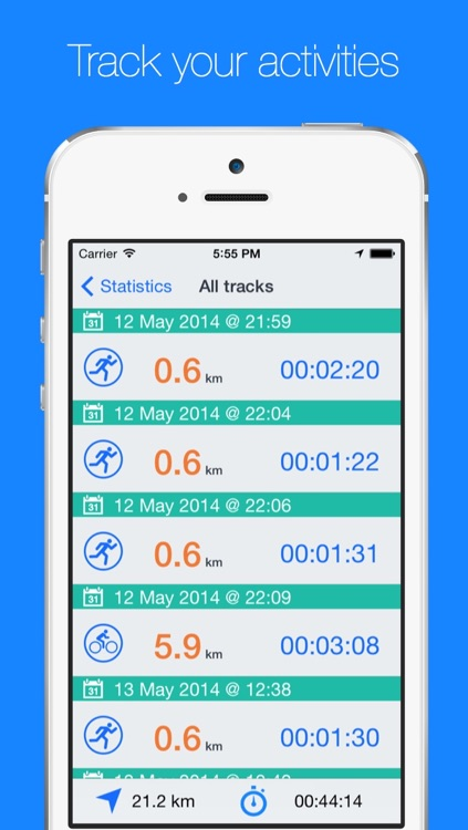Route Map - Walking, Running and Cycling GPS Tracker with Offline Maps