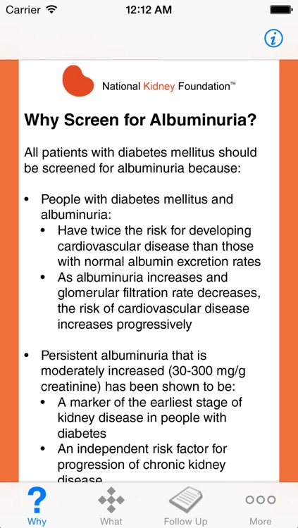 Screening for Albuminuria in Patients with Diabetes