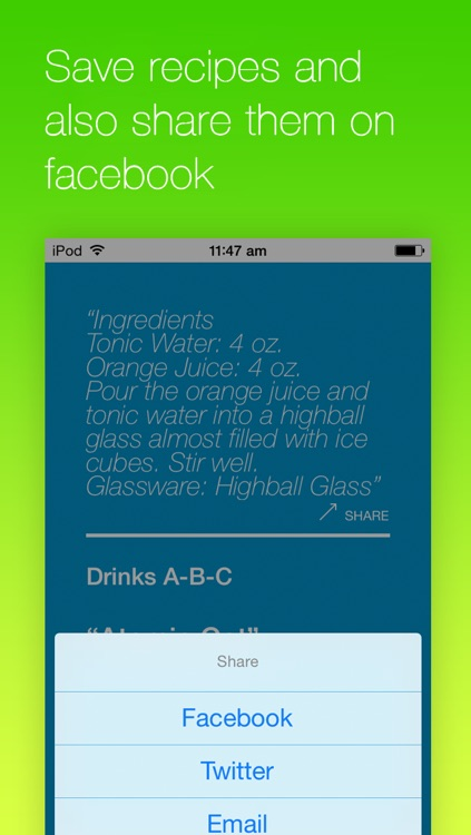 BarBack Non - Alcoholic Drink Guide screenshot-3