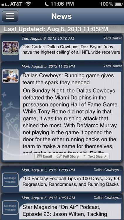 Dallas Football Live