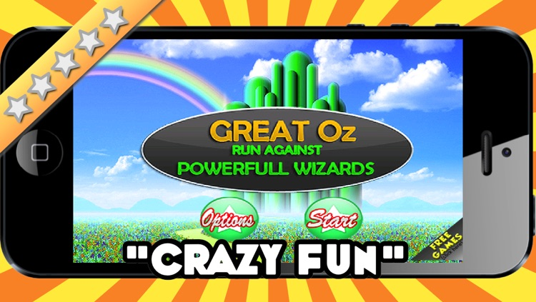Great Oz Race, Run Against the Powerful Wizard Free Game