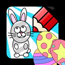 Colour Me In Easter Free
