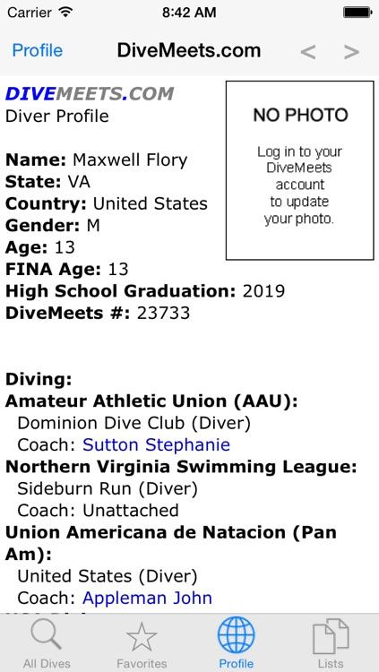 Dive List screenshot-4