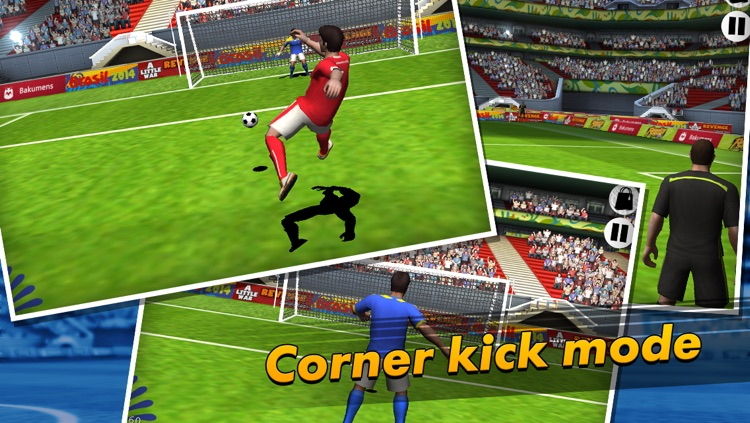 Penalty Soccer 2014 World Champion screenshot-1