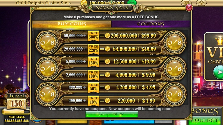 Gold Dolphin Casino Slots - Real Rewards screenshot-3