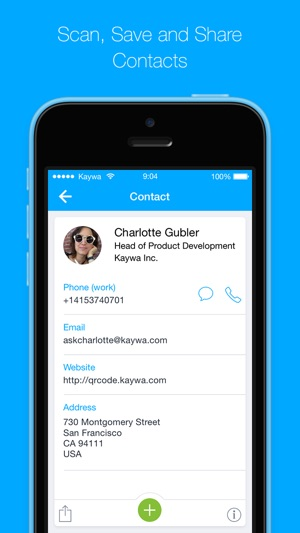 QR Code Reader from Kaywa - SCAN, TAP AND BROWSE on the App Store