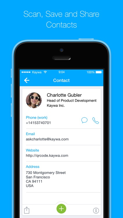 QR Code Reader from Kaywa - SCAN, TAP AND BROWSE screenshot-3