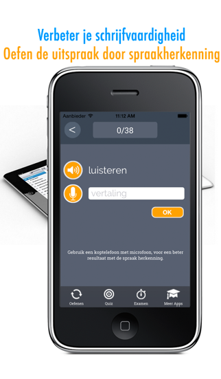 Learn Spanish and Dutch Vocabulary: Memorize Spanish Words - Free screenshot three