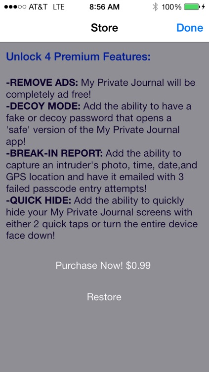 My Private Journal: Free Secret Photo, Video, & Journal Manager screenshot-3