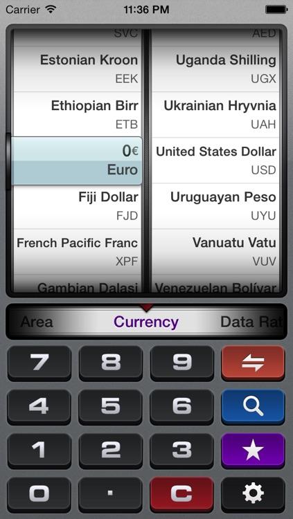 gUnit - Currency & Unit Converter (Conversion)