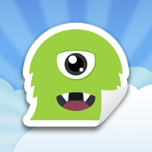 Shtickers - Animated stickers for iMessages icon