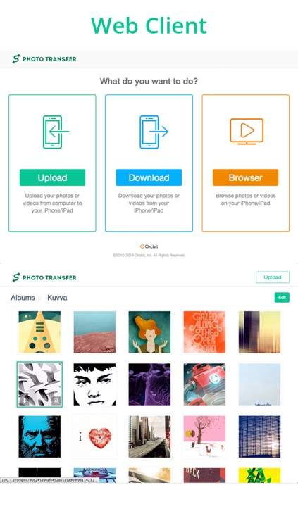 Photo Transfer Pro - Upload and download photos and videos wireless via WiFi screenshot-3