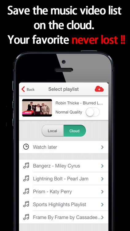 FinalTube Pro - play YouTube music video continuously
