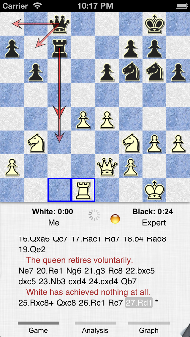 Screenshot #3 pour SmallFish Chess For iOS 6 - Free & Friends