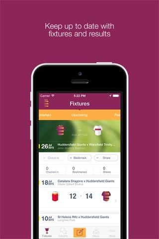 Fan App for Huddersfield Giants - náhled