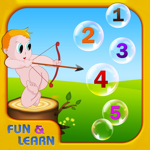 Fun and Learn : Teach Me Numbers icon