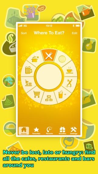 Screenshot for 美食感应器 PRO - 去哪吃?让GPS帮你找餐馆 in China App Store