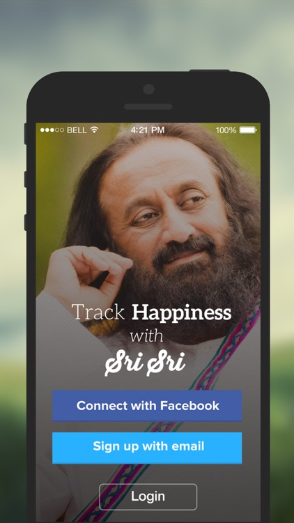 Track your Happiness with Sri Sri