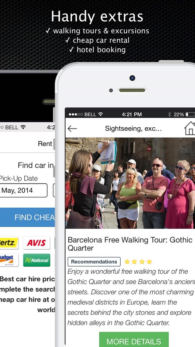 Carte Espagne Hors Ligne.Espagne Guide Et Carte De Voyage Hors Ligne Visite De La Ville