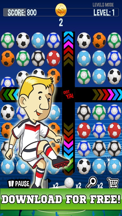 Football Match Mania - Free Soccer Puzzle Game!