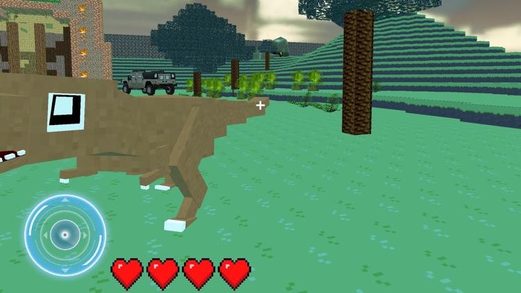 Jurassic Craft Dino Hunter - Tuvok Multiplayer With Mine Mini Skins for MC Pocket Remastered Edition screenshot-4