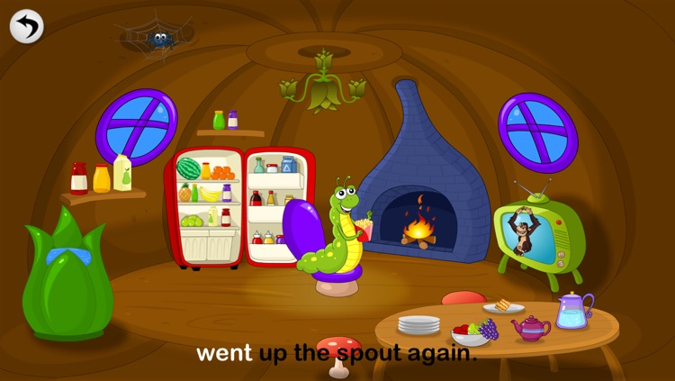 Itsy Bitsy Spider- Songs For Kids screenshot-3