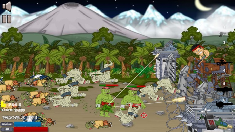 Dead Zombies Head - Shoot Game screenshot-4