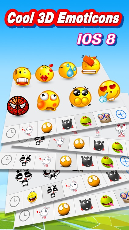 Animated 3D Emoji Pro - New Animated Emojis & Emoticons Art  Keyboard screenshot-3
