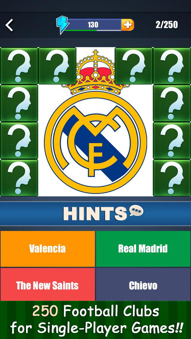 点击获取Guess the Football Clubs - Free Pics Quiz