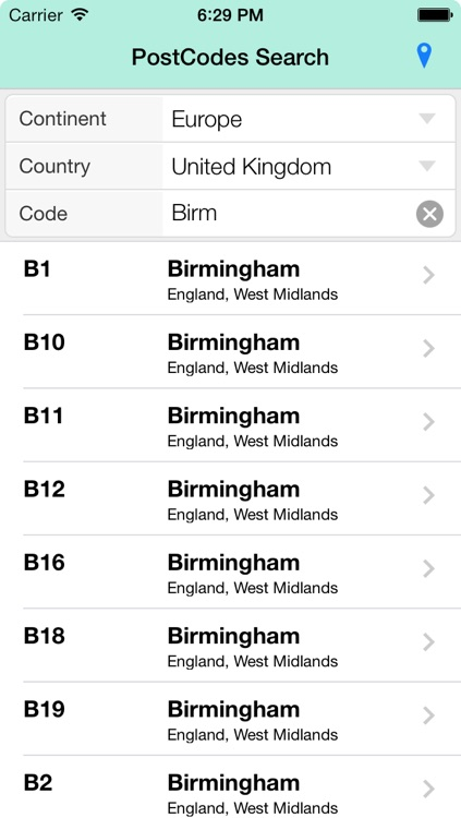 PostCodes Search screenshot-3
