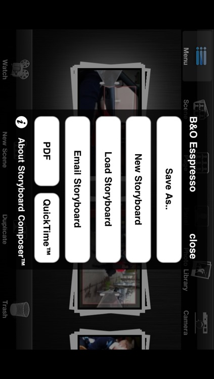 Cinemek Storyboard Composer HD screenshot-4