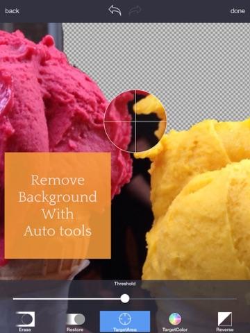 背景透明化 HD - Background Eraserのおすすめ画像2