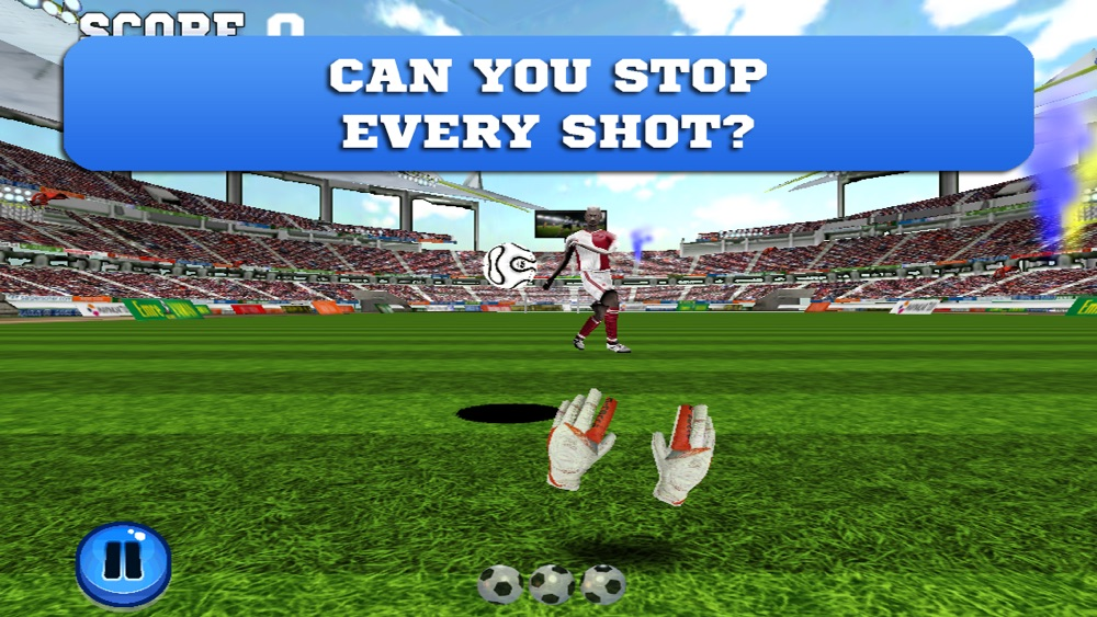 Flick Goalkeeper – Can you stop the soccer ball of a football striker's perfect kick? Cheat Codes