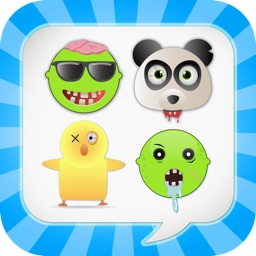 Zombiemoji Pro: Send Zombie Themed Emoticons for Text + Messages