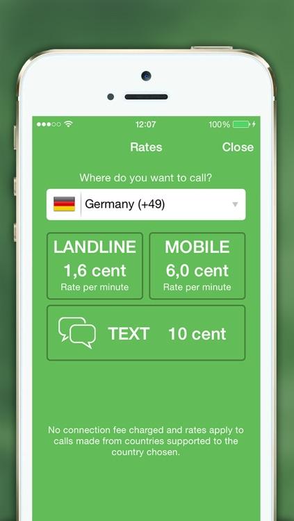 mySmartcall: Cheap Calls and Text screenshot-3