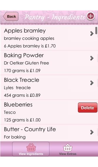 Cost A Cake Pro app image