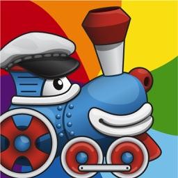 Rainbow Train: Teach Colors lite
