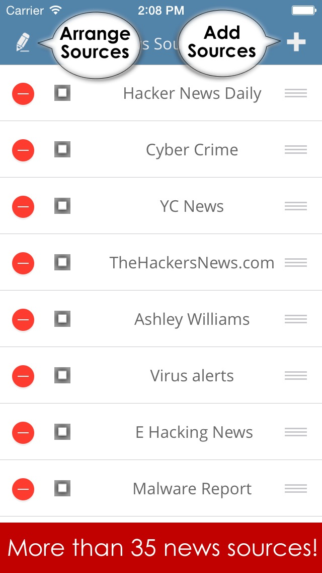 Hacker news app  - All Hacking news, firewalls technology news reader and anti virus alerts Screenshot