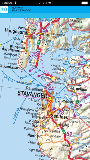 Norway road map on the app store norway road map on the app store publicscrutiny Choice Image