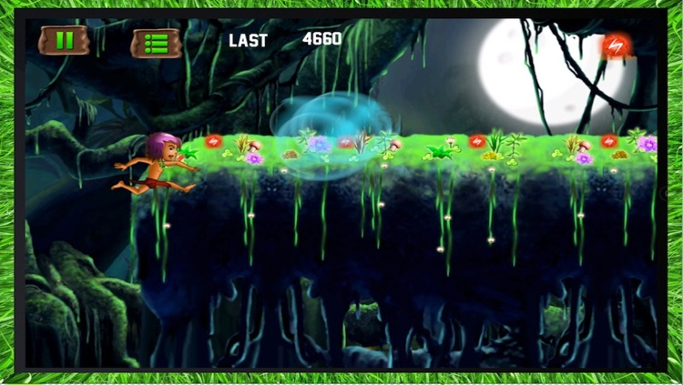 Jungle Kid Adventure Run - Dark Forest Fantasy HD screenshot-4