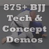 875+ BJJ Technique Demos