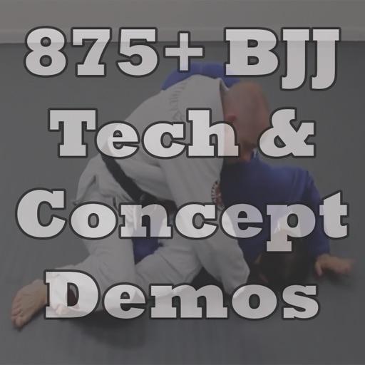 875+ BJJ Technique Demos